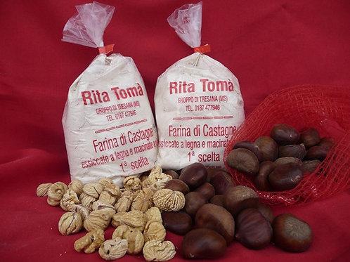 Farina di Castagne Rita Tomà