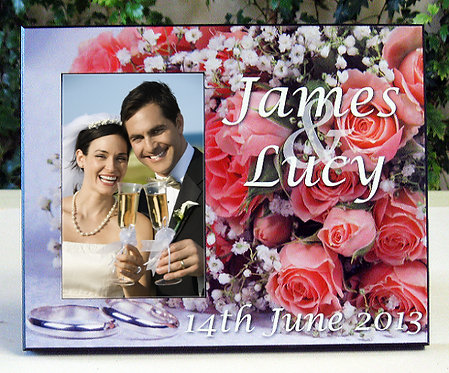 Personalised Wooden Photo Plaques