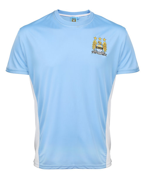 Man City FC adults t-shirt inc Personalisation FOC