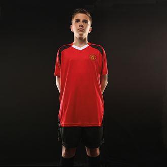 Kids Man Utd FC  tee inc Personalisation FOC