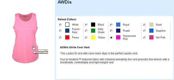 AWDis Girlie Cool Vest
