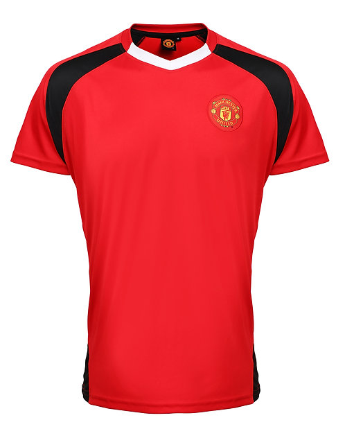 Man Utd FC adults t-shirt inc Personalisation FOC
