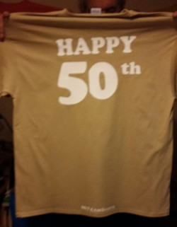 50th Tee