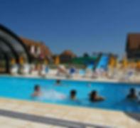Village vacances piscine couverte calvados