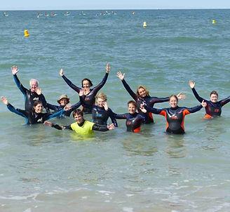 Marche aquatique village vacances Bon séjour la Plage