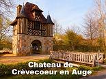 Le château du xie siècle a été une importante place forte pour le pays d'Auge durant le Moyen Âge et fut très disputé pendant la guerre de Cent Ans