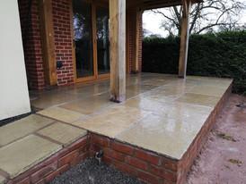 Limehouse Green Limestone Patio
