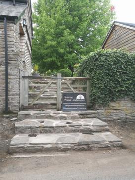 Old Cottage Sandstone Steps