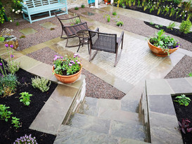 Victorian patio
