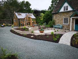 Designer Cottage garden