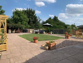 Victorian modern garden