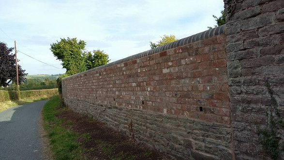 Boundary wall repair