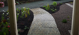 Belgium style bricket paving