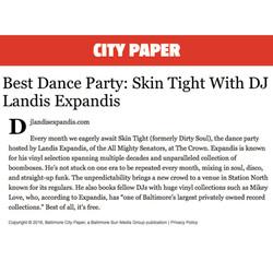 City Paper best party