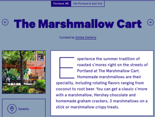 On the Grid: The Marshmallow Cart