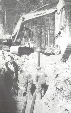 grävmaskin