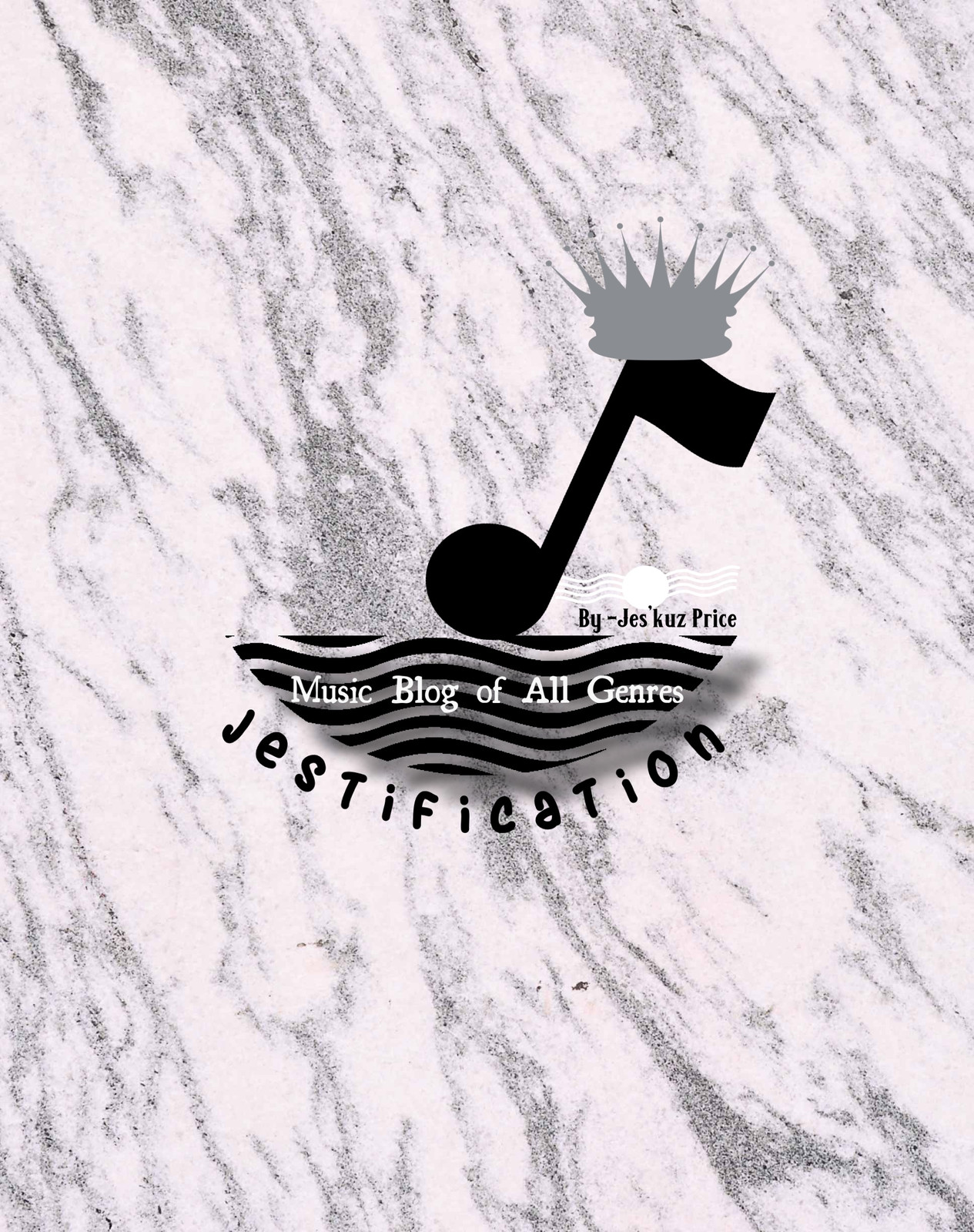 Logo Design for My Music Website: Jestification-All Genres