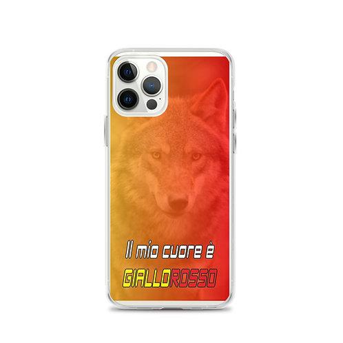 "Cover Iphone ""Cuore Giallorosso"""