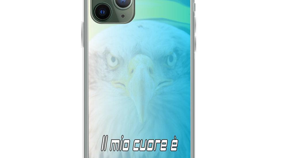 """Cover Iphone """"Cuore Biancoceleste"""""""