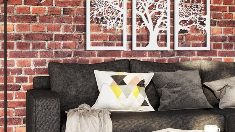 3 Pieces Tree of Life Wall Decors Bundle
