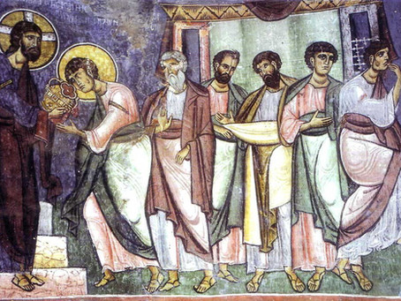 HE CEREMONIES OF CHRISTIAN INITIATION (Baptism, Chrismation and Eucharist)