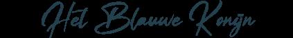 Het Blauwe Konijn - Illustrator - Handge