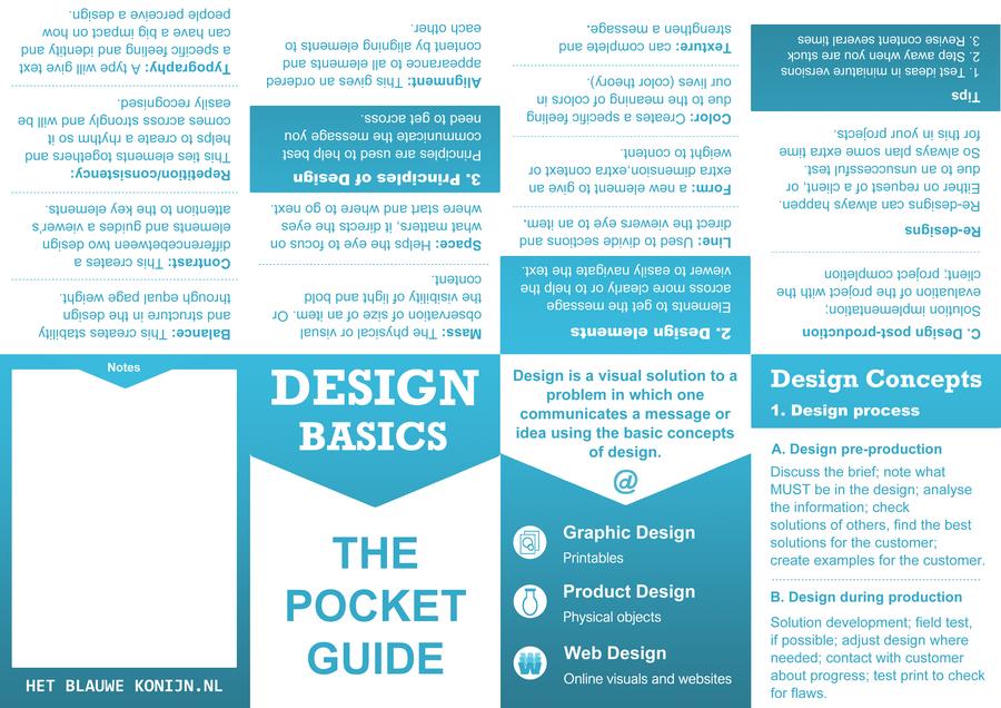 Design Basics A4 vouw boek
