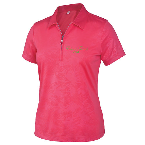 Rivertowne LGA Ladies' Dry Swing Short Sleeve Monterey Club Polo 2456