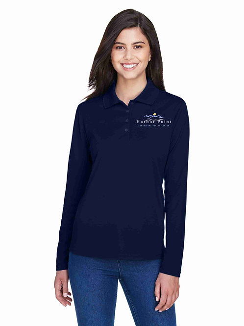 Harbor Point Ladies' Core 365 Long-Sleeve Polo 78182
