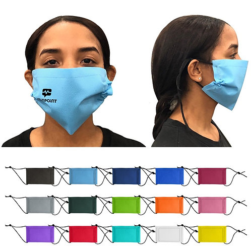 Non-Woven Face Mask Non-Decorated Blank (150 minumum) 150 pcs 2.37 per mask