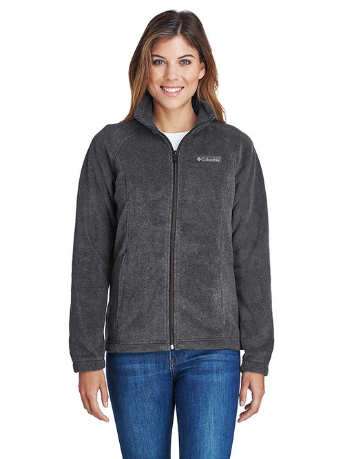 Columbia Ladies' Benton Spring Full-Zip Fleece (with logo)