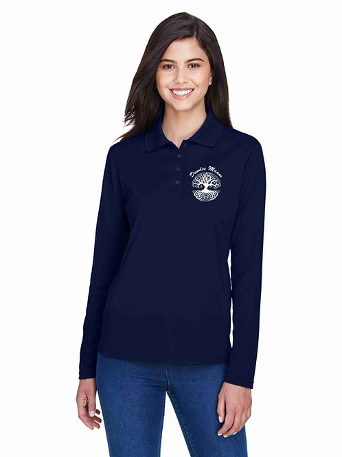 Dundee Manor Ladies' Core 365 Long Sleeved Polo 78192