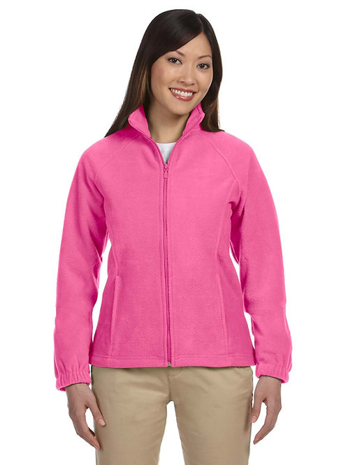 Harriton Ladies' 8 oz. Full-Zip Fleece (with logo)
