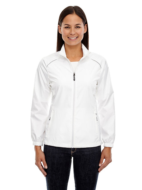 Core 365 Ladies' Motivate Unlined Lightweight Jacket (with logo)