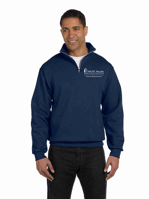 MUSC Health Jerzees Adult 8 oz. Quarter-Zip Cadet Collar Sweatshirt 995M