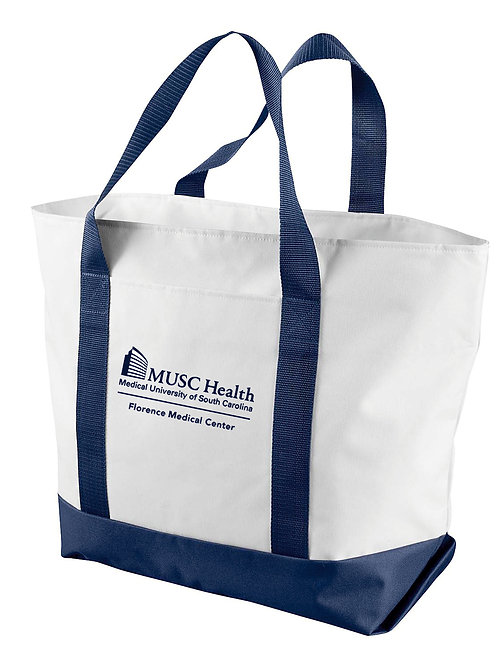 MUSC Health Liberty Bags Giant Zippered Boat Tote 7006