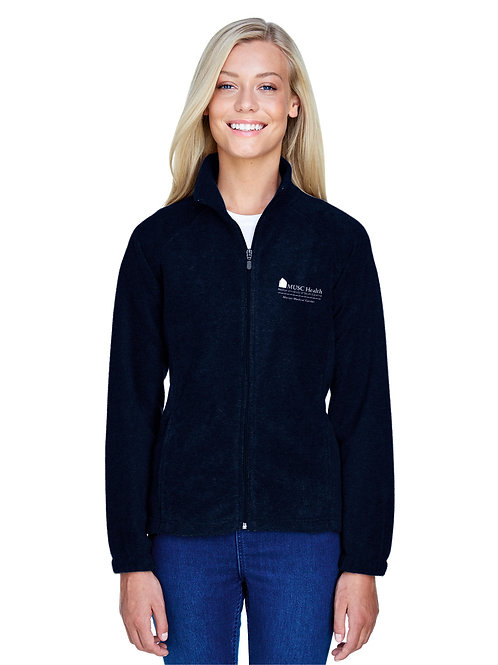 MUSC Health Harriton Ladies' 8 oz. Full-Zip Fleece 990W
