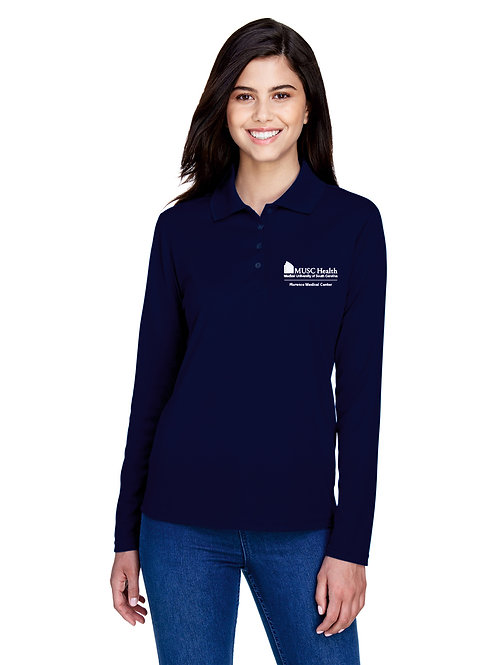 MUSC Health Ladies' Core 365 Long Sleeved Polo 78192