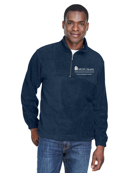 MUSC Health Harriton Adult 8 oz. Quarter-Zip Fleece Pullover M980