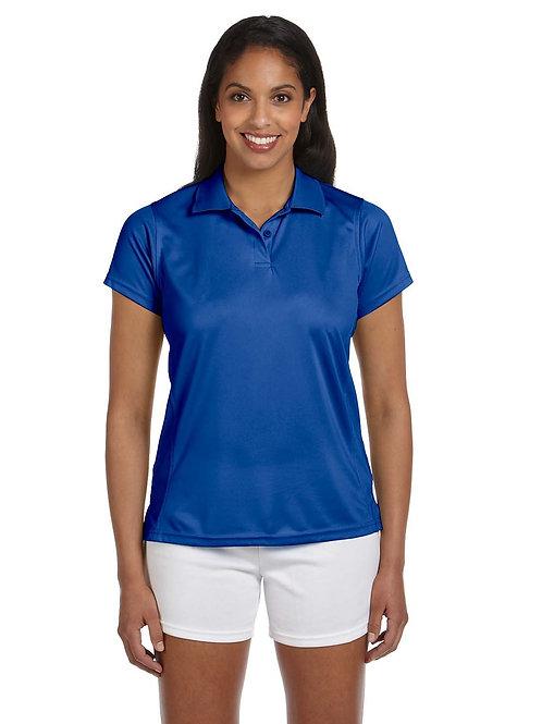 Harriton Ladies' 4 oz. Polytech Polo (with logo)