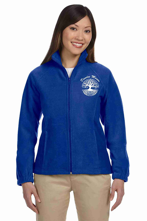 Dundee Manor Ladies' 8 oz. Full-Zip Fleece M990W