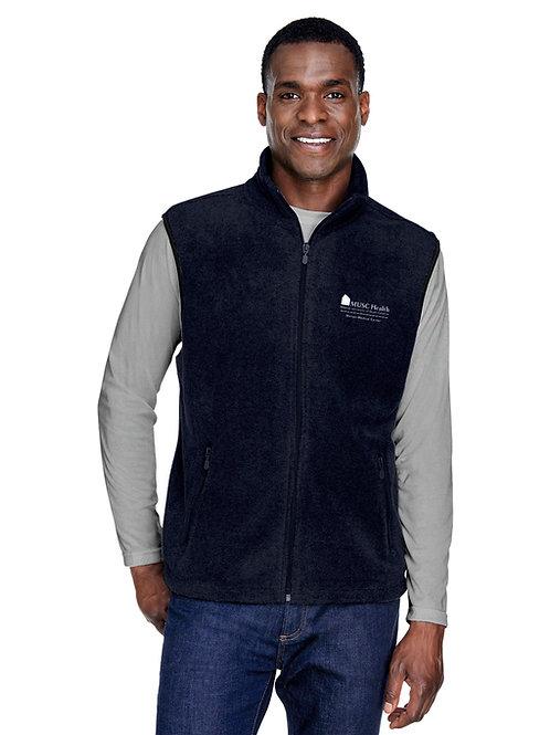 MUSC Health Harriton Adult 8 oz. Fleece Vest M985