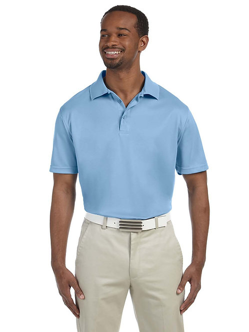 Harriton Men's 4 oz. Polytech Polo (with logo)