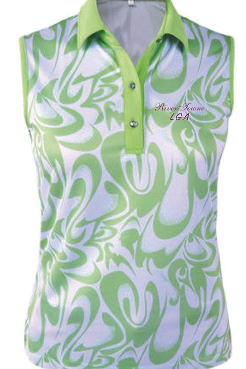 Rivertowne LGA Ladies' Dry Swing Monterey Club Sleeveless Polo 2403