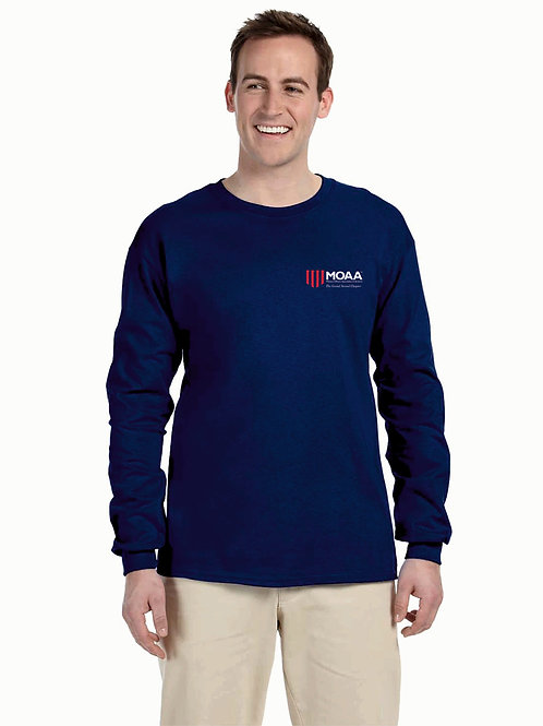 MOAA Grand Strand Gildan Adult Ultra Cotton® 6 oz. Long-Sleeve T-Shirt