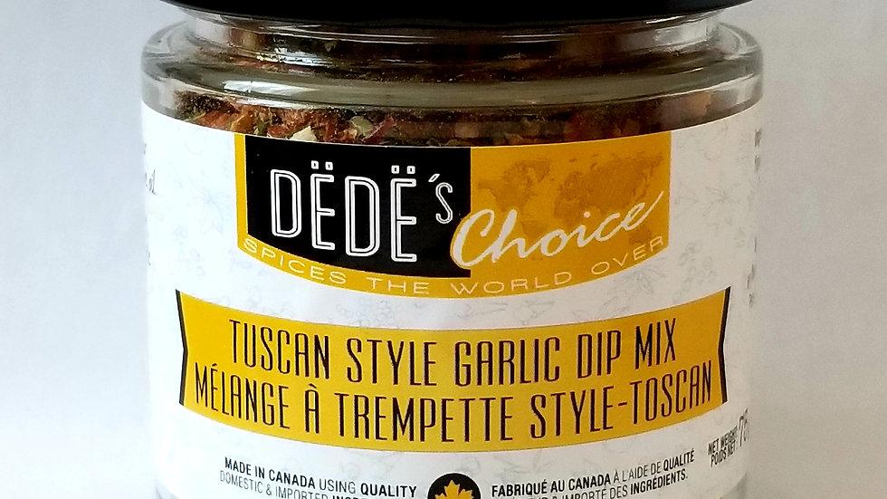 Tuscan-Style Garlic Mix dip -75g