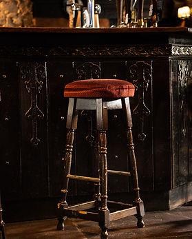Queens Head Pub Stool