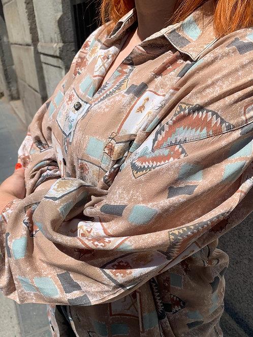 "Camisa vintage ""Earth"""