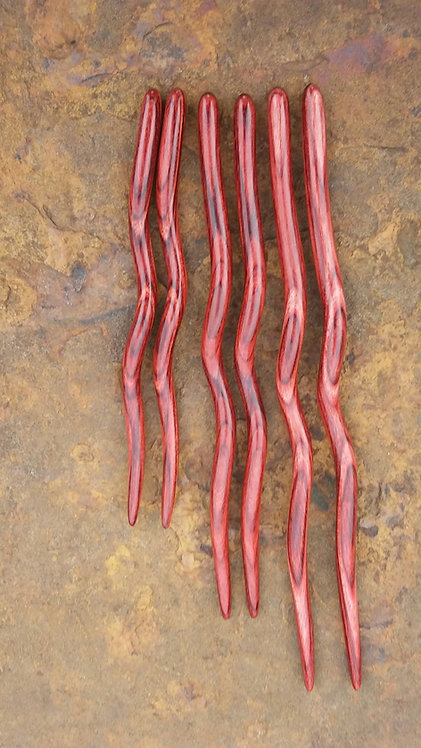 Ketylo Hairsticks DymaLux Rosewood Single