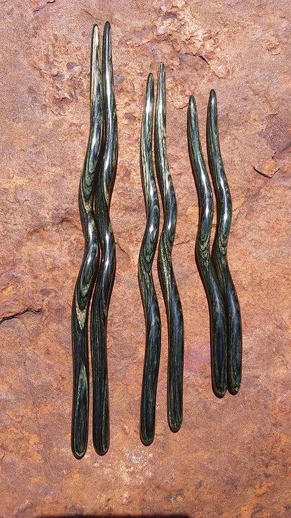 Ketylo Hairsticks Dymalux Olive Single
